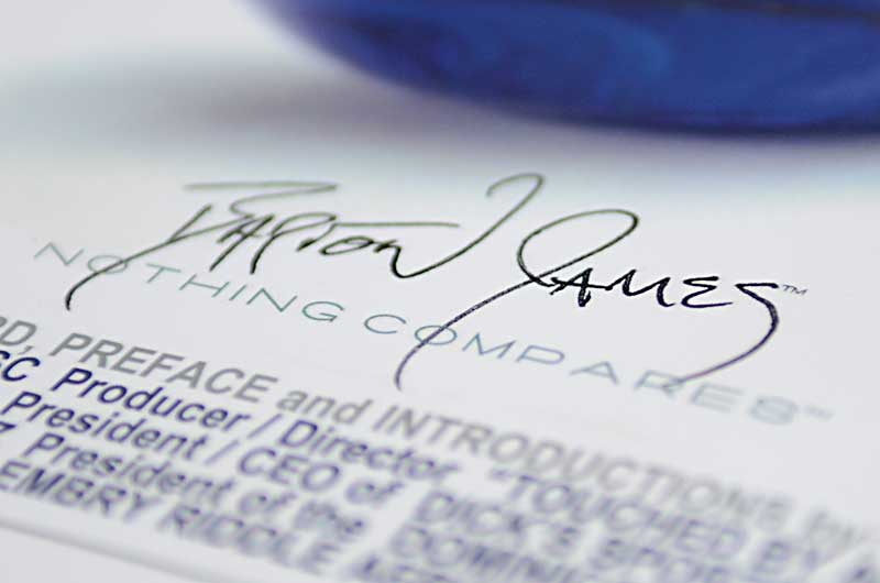Bart James Christner's Signature from Digital Media: A Visual Encyclopedia: D5liver (Photo by Glen Green)