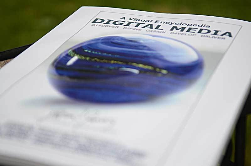 Book Cover: Digital Media: A Visual Encyclopedia: D5liver (Photo by Glen Green)
