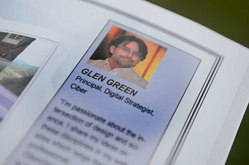 Glen Green, featured expert in Book Cover: Digital Media: A Visual Encyclopedia: D5liver (Photo by Glen Green)